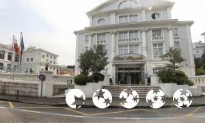 "Foto del exterior de ""Hotel Hoyuela"""