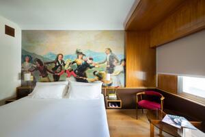 """Foto di una camera da """"Hotel Goya"""""""