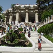 Parque Güell en Barcelona