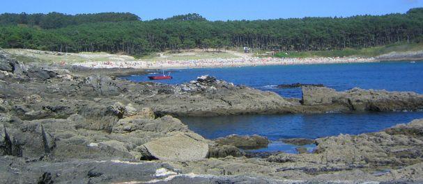 Fotografía de Pontevedra: Playa de Melide, de Cangas de Morrazo