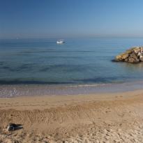 La playa de El Arenal