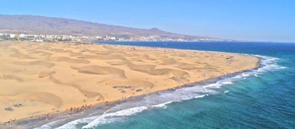 Fotografía de Maspalomas: Playa de Maspalomas