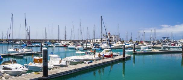Fotografía de Playa Blanca: Puerto deportivo Rubicón