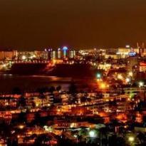 Playa del Inglés de noche