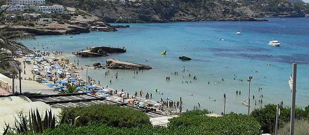 Fotografía de San Antonio Abad: Playa en Ibiza