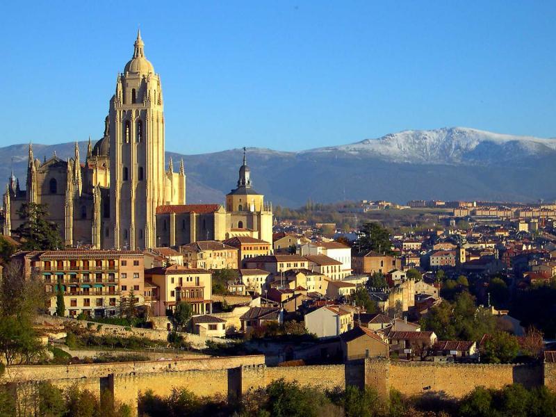 hoteles en segovia espana hd 1080p 4k foto