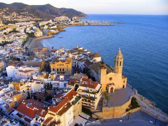 Vista sobre Sitges