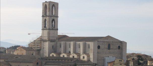 Fotografía de Perugia: Perugia Basilica San Domenico
