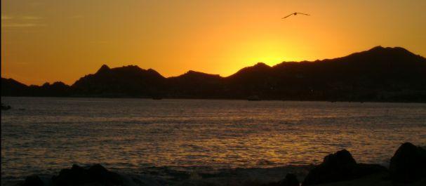 Fotografía de Cabo San Lucas: Atardecer en Cabo San Lucas