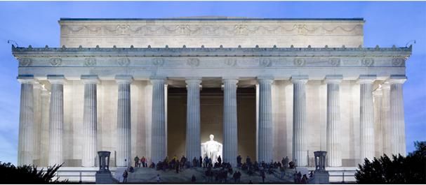 Fotografía de Estados Unidos: Washington - Lincoln memorial