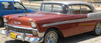 Coche en La Habana