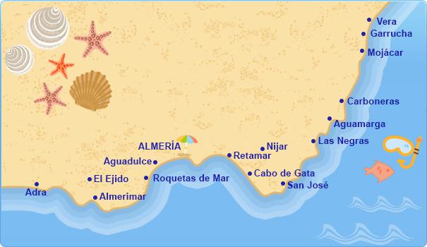 Hoteles en costa de almer a costas mediterr neas espa olas tu hotel en - Costa sol almeria ...