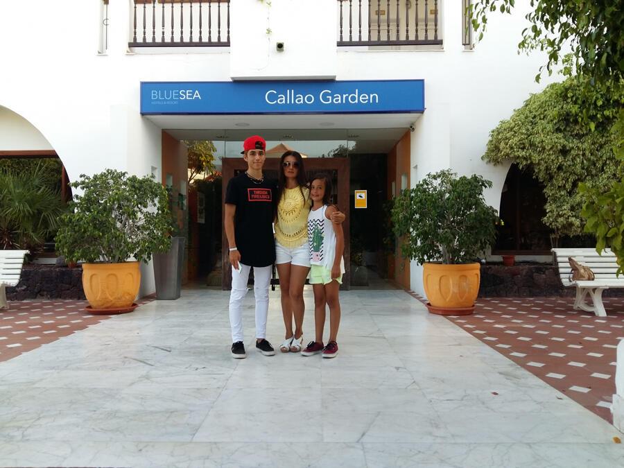 Blue Sea Callao Garden Callao Salvaje Tenerife Canary Island