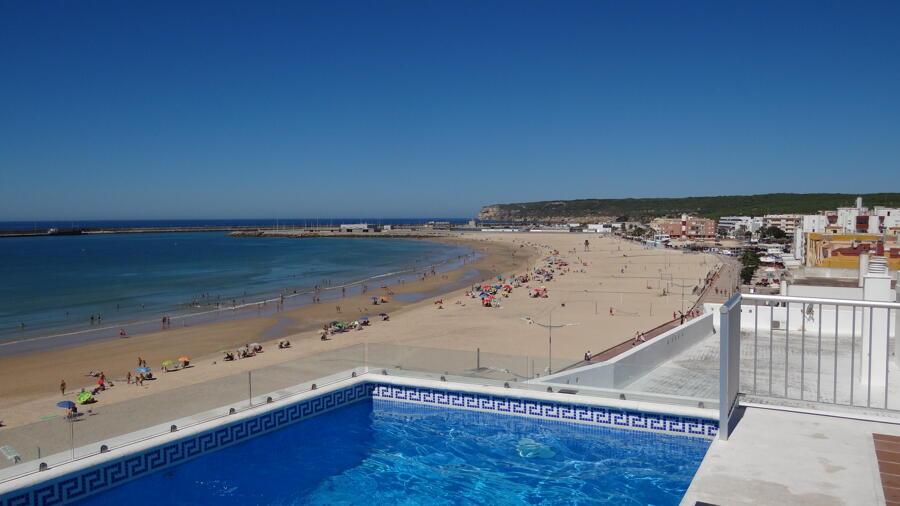 Comentarios apartamentos turisticos playa barbate for Piscina trafalgar