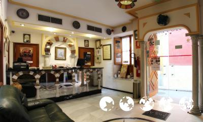Foto de las zonas nobles de Hotel Los Omeyas