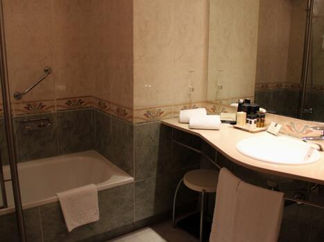 Foto del bagno Hotel Ski Plaza