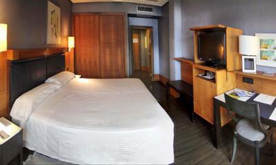 Foto de una habitación de Gran Hotel Lakua