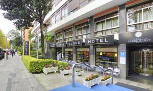 """Foto del exterior de """"Hotel Conde Duque"""""""