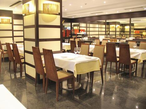 Foto area ristorante Hotel Conde Duque