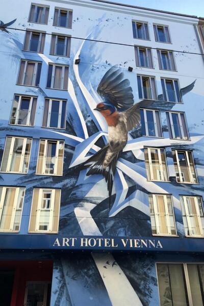 Foto degli esterni Hotel Art Vienna