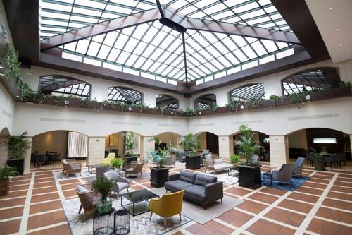 Foto de las zonas nobles de Hotel Intur Castellon