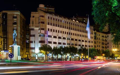 Foto del exterior de Hotel Senator Huelva (ex Monte Conquero)