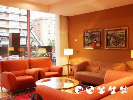 Common areas – Hotel Carlton Rioja