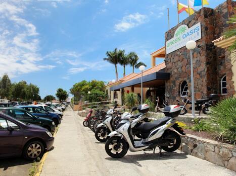 Foto del exterior de Green Oasis Club