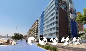 """Foto do exterior - """"Hotel Villa Del Mar"""""""