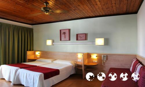 Foto de una habitación de Hotel Xaine Park