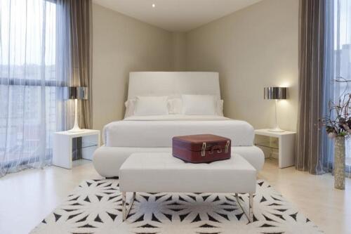 Foto di una camera da Hotel Gran Bilbao