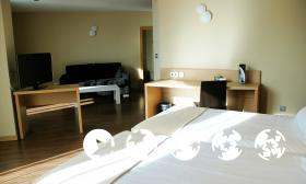 """Foto de una habitación de """"Hotel Sercotel Gran Bilbao"""""""