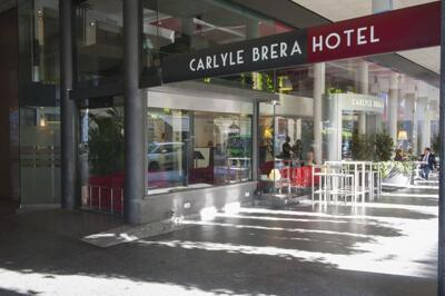 Außenansicht - Hotel Carlyle Brera