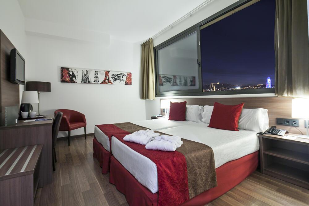 Hotel 4 barcelona barcelona Habitacion hotel barcelona