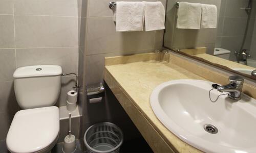 Foto del baño de Hotel Samba