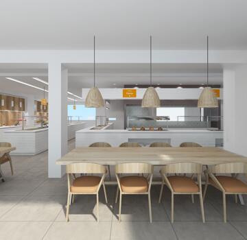 Foto de restauración de Suneoclub Costa Brava