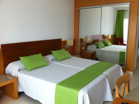Foto di una camera da Hotel Cap Negret