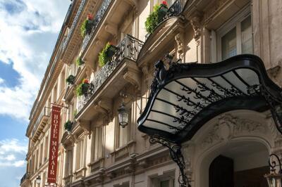 Außenansicht - Hotel Mayfair