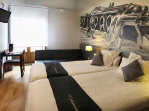 """Chambre - """"Hotel Abba Jazz (ex Almoneda)"""""""