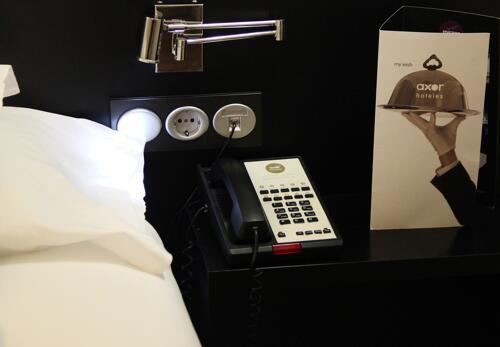 Foto de una habitación de Hotel Axor Barajas
