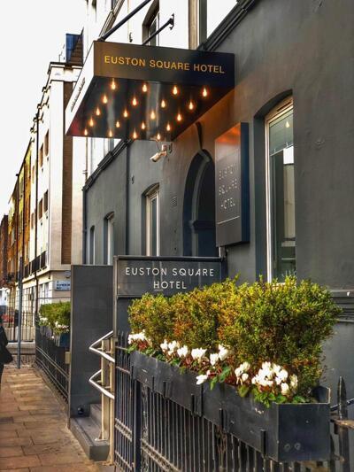 Foto del exterior de Euston Square Hotel