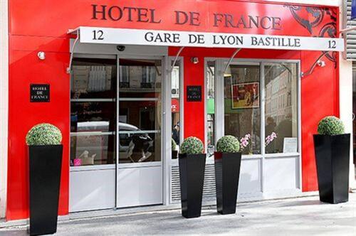 Foto del exterior de Hotel De France Gare de Lyon Bastille
