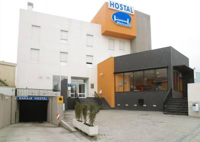 Foto del exterior de Hostal Welcome