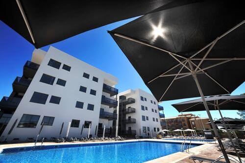 Foto del exterior de Apartamentos Leo Deluxe