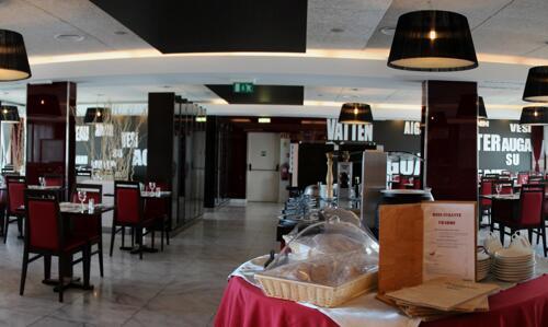 Foto do restaurante - Aquashow Park Hotel