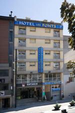 """Foto exterior del """"Hotel Les Fonts"""""""