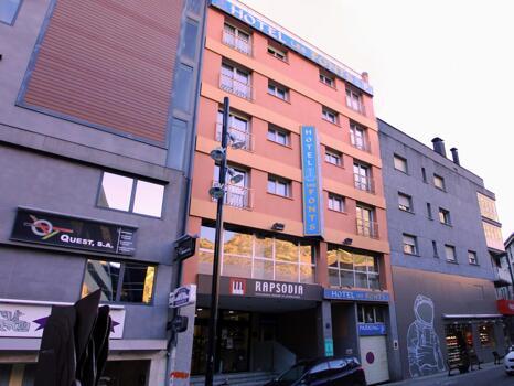 Foto del exterior de Hotel Les Fonts