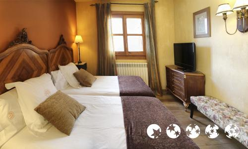 Chambre - Hotel Selba d'Ansils