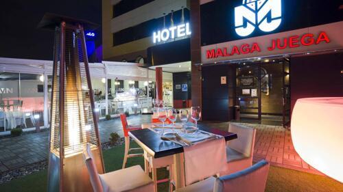 Außenansicht - Hotel Málaga Nostrum