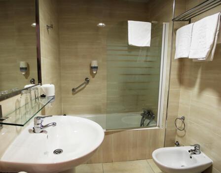 Foto del baño de Hostal Cataluña